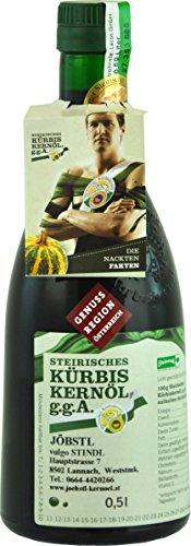 100% natürliches, echtes Steirisches Kürbiskernöl g.g.A. 0,5 Liter - 1