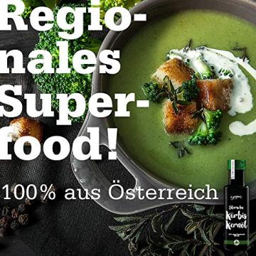 Steirisches Kürbiskernöl g.g.A. 100% reines original Kernöl aus der Steiermark Premium (1000 ml) - 3