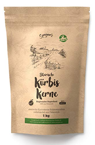 2 kg Steirische Kürbiskerne Kürbiskern Rohkostqualität natur unbehandelt vegan geschält (2) - 1