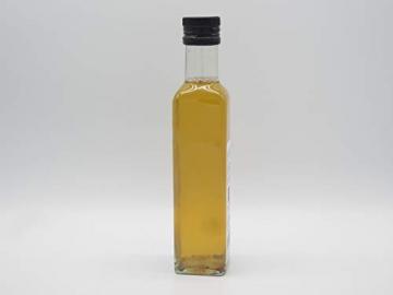 Essigmanufaktur Oswald / Schaffer - Apfel - Zitronenverbeneessig, naturtrüb, histaminarm, vegan, 250 ml - 10