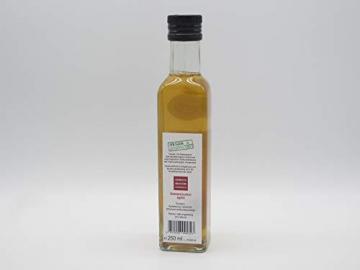 Essigmanufaktur Oswald / Schaffer - Apfel - Zitronenverbeneessig, naturtrüb, histaminarm, vegan, 250 ml - 11