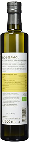 Fandler Bio-Sesamöl, 1er Pack (1 x 500 ml) - 2