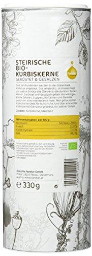 Fandler Steirische Bio-Kürbiskerne geröstet & gesalzen, 1er Pack (1 x 330 g) - 2