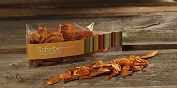 Getrocknete Aprikosen 45g - getrocknete Marillen vom Bodensee - Vitaminreich dank schonender Trocknung - goldgelbe Farbe - Aprikosen Chips als Snack - 2