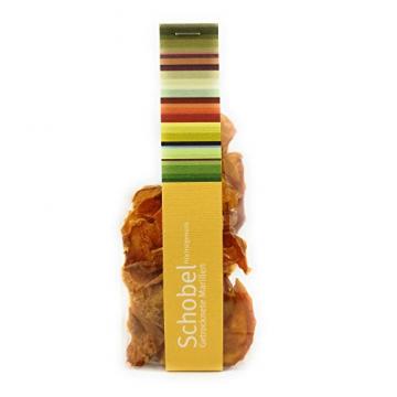 Getrocknete Aprikosen 45g - getrocknete Marillen vom Bodensee - Vitaminreich dank schonender Trocknung - goldgelbe Farbe - Aprikosen Chips als Snack - 1