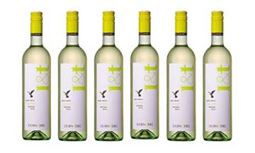 Grüner Veltliner L&T (leicht und trocken) 2019 - Qualitäts Weißwein aus Österreich,trocken (6 x 0,75l) - 1
