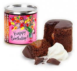 """Hanauer BIO Sachertorte """"Happy Birthday"""", 2er Pack (2 x 150 g) - 1"""