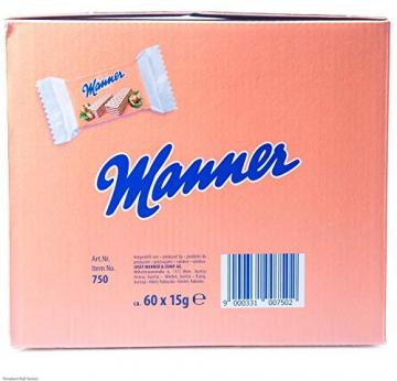 Manner Mini Neapolitaner 900g XL Pack (60 x 2 Einzelstück) - 4