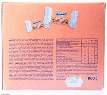 Manner Mini Neapolitaner 900g XL Pack (60 x 2 Einzelstück) - 5