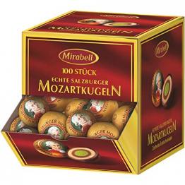 Mirabell - Mozartkugeln - 100er Spenderbox - 1700 g - 1