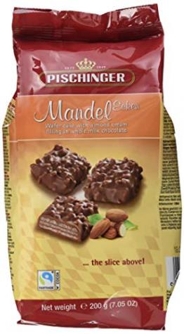 Pischinger Mandel Ecken Minis - Beutel groß, 200 g - 1