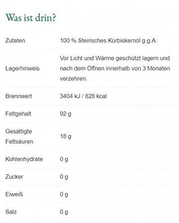 Steirerkraft - Selection - Steirisches Kürbiskernöl g.g.A. - 500 ml - 2