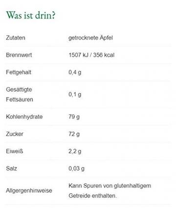 Steirerkraft - Steirische Premium Apfelchips naturbelassen (50 g) - 2