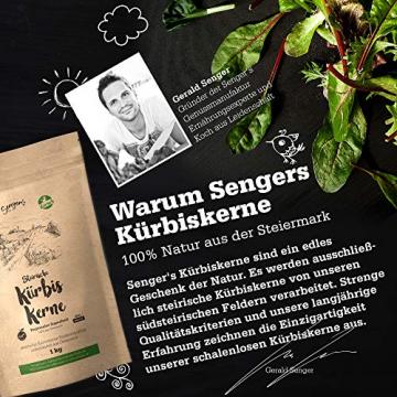 Steirische Kürbiskerne geröstet und gesalzen natürlich, vegan gesunde Knabber-Kerne 1kg - 3
