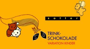 Zotter Variation Kinder (Honig-Zimt, Mango Lassi, Milch Kakao, Weiße mit Vanille, Zimt Banane), 1er Pack (1 x 110 g) - Bio - 1
