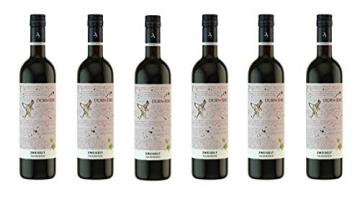 Zweigelt, Falkenstein 2018 - Qualitäts Rotwein aus Österreich, trocken (6 x 0,75l) - 1
