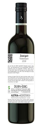 Zweigelt, Falkenstein 2018 - Qualitäts Rotwein aus Österreich, trocken (6 x 0,75l) - 3