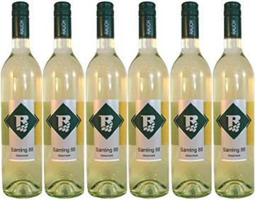 Sämling 88 (Scheurebe) 2019 DAC Vulkanland Steiermark 6 Flaschen Weinhof Rauch - 1